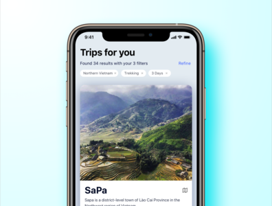 Travel Discovery App