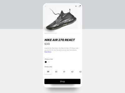 Nike Shoe E-Shop