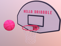 First Post | Hello Dribbble
