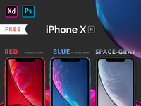 iPhone Xr Mockups Part-1
