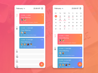 Smart Calendar flow and User Interface