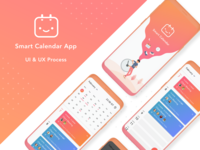 Smart Calendar App UI & UX process