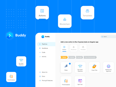 Buddy Playoff: Automation User Interface