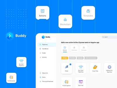 Buddy Playoff: Automation User Interface development automation buddy ingeniouspixel interaction adobe xd interaction design ux ui
