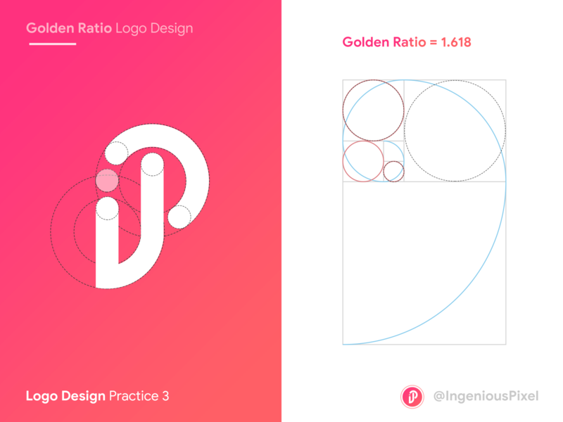 Logo practice 3 app logo design logo design logodesign app icon icon goldenratio golden ratio app logo logo ingeniouspixel branding interaction design ux ui