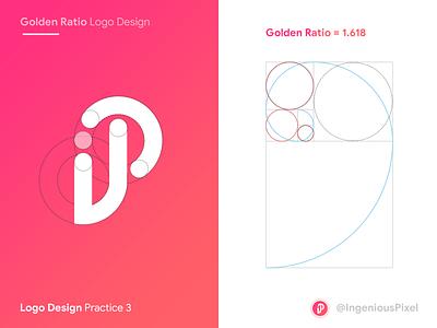 Logo practice 3 app logo design logo design logodesign app icon icon goldenratio golden ratio app logo logo ingeniouspixel branding interaction design ux ui