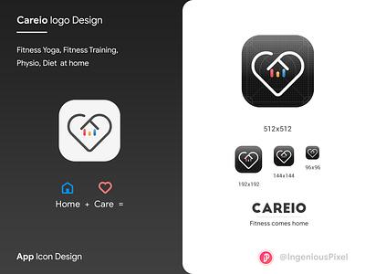 App icon 2 typography ingeniouspixel illustration branding ui ux interaction design logo design logo app logo app icon design app icon