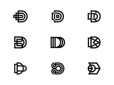D Monogram Explorations.