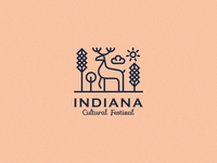 Indiana Cultural Festival Logo