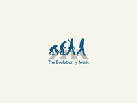 The Evolution Of Music Logo