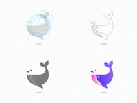 Whale Logo Construction / Hobby Project