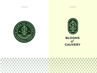 Blooms Of Cauvery Logo Options
