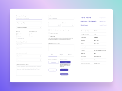 UI Kit Forms mobile design ui  ux design travel minimalism ui kit form webdesign ux ui ui  ux web design