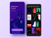 Halloween Sounds app