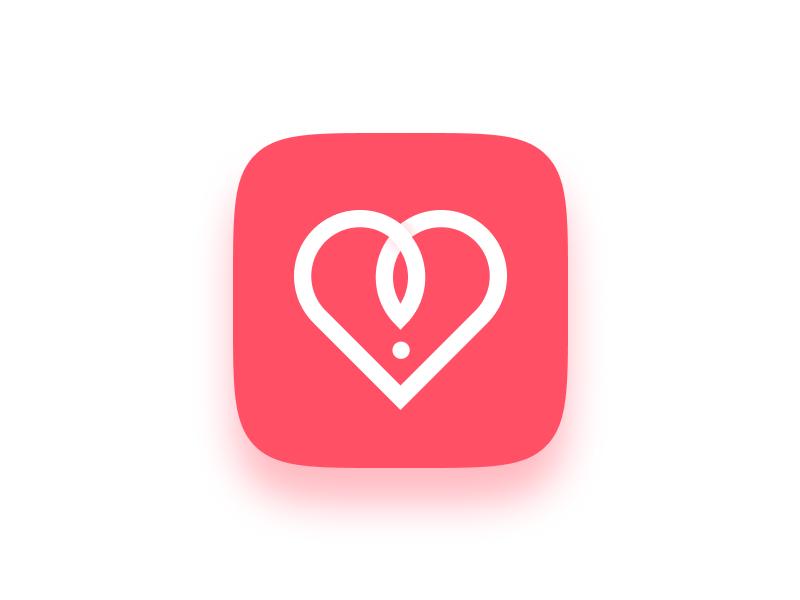 Sex Dating App Icon by Arthur Arapov on Dribbble