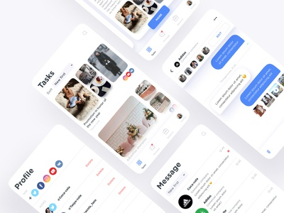 Blogger ios white icon simple button daily ui ux app ui