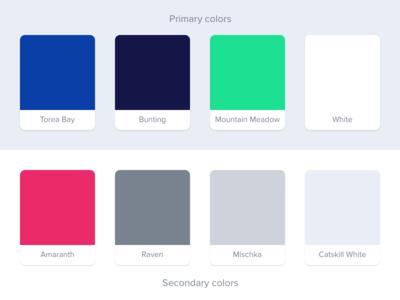 New Backspace Color Palette