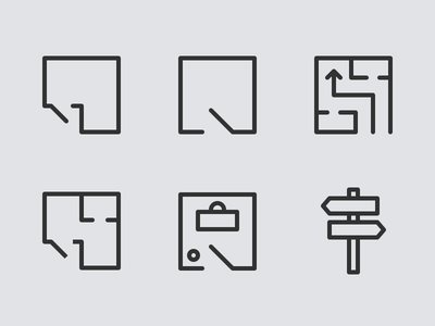 Stuck with this 'indoor wayfinding' icon icon set 24px wayfinding indoor icon