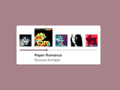 Mini music playlist
