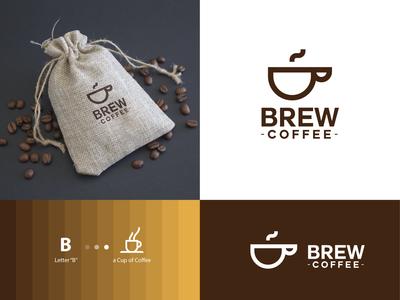 Brew Coffee - Brand Identity