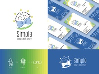 Simple Baby N Kids Stuff - Brand Identity