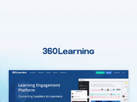 360Learning landing page