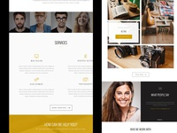 'Zinc' Agency Theme for Themezilla