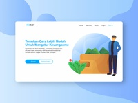 Exploration Bank Web Design