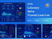 Library data visualization