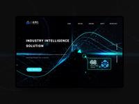 Data intelligence monitoring webpage