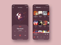 Design music application under the style of music.