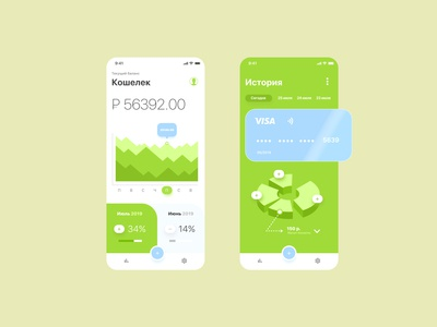 Design concept of an electronic wallet mobile application
