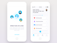 Insurance App - Ui design