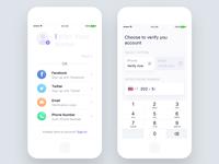 Verify Your Account - UI Design