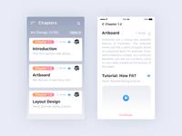 Chapters App - UI Design