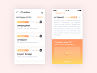 Updating Chapters App with Play Auto Reading - UI Design