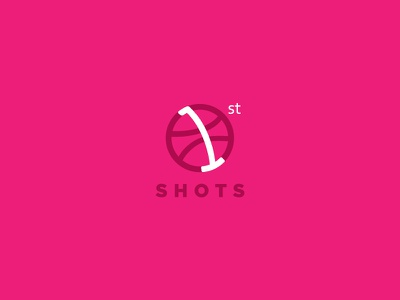 Debuts Logo First Shots in Dribbble dribbble shots design logo flat logo first shots debuts
