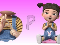 Sign language|BSL alphabet song animation