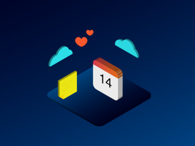 Isometric for a Valenrine's day