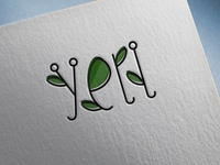 "Logo ""Yell"" for a flower company"