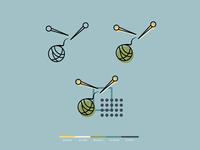 Seamstress (Knit) Logo Palette
