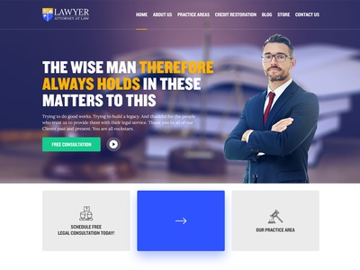 Lawyer Home Page