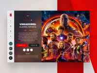 Daily Interface 14 - 30: Netflix redesign concept