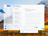 Mac Mail App - Redesign Concept