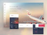 Airlines UI Concept