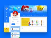 Linkedin - Super Mario Concept