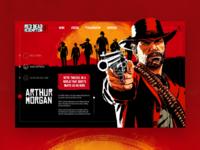 Red Dead Redemption - UI Concept