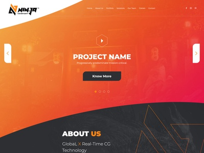 Nin-ja Company - UI Design