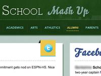 Mash Up Page Design