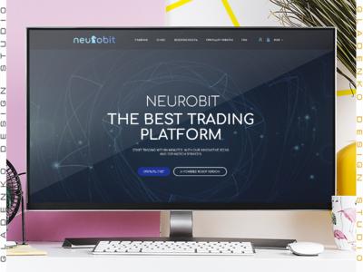 design cripto trading site